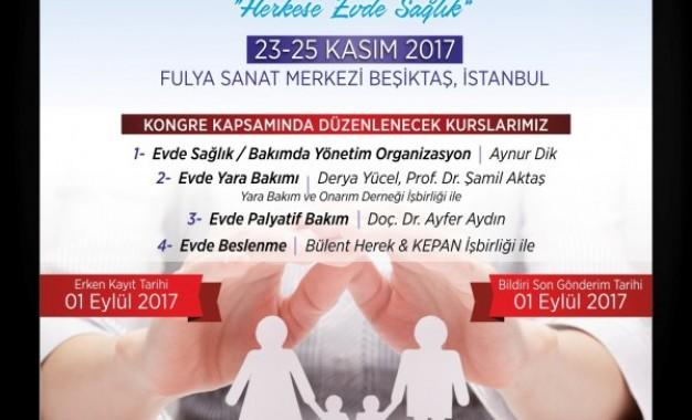 Evde Sağlık ve Bakım Kongresi İstanbul'da