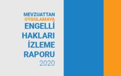 Engelli Hakları İzleme Raporu-2020 Yayınlandı